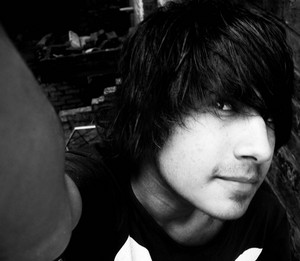 Emo boy Shahbaz Qureshi