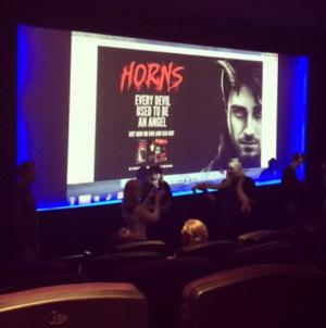 Exclusive: Horns Digital HD & Blu cá đuối, ray CD Pack Special Screening (Fb.com/DanielJacobRadcliffeFanClub)