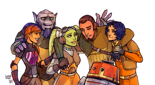 Image result for star wars rebels family