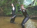 Finnick and Katniss - the-hunger-games photo