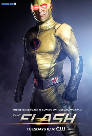 First Look at Reverse Flash