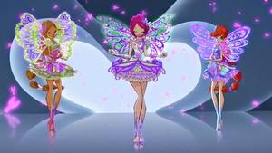 Flora, Tecna, Bloom Butterflyix