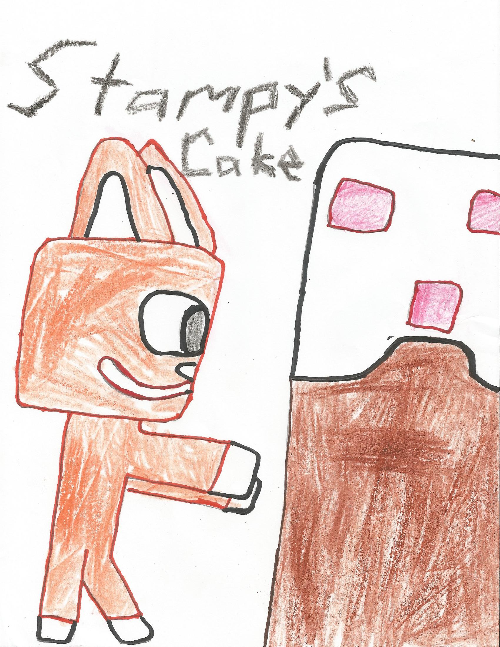 From Aiden, Stampy's Cake
