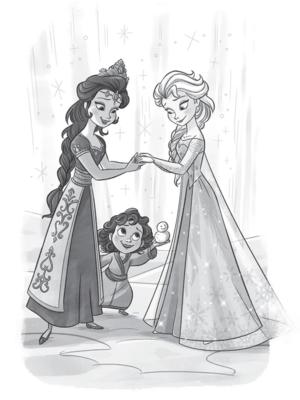 겨울왕국 - Anna and Elsa: A Warm Welcome Book
