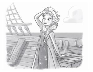 アナと雪の女王 - Anna and Elsa: A Warm Welcome Book