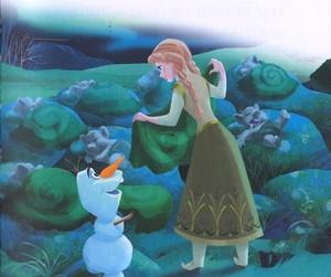 La Reine des Neiges - Anna is Our Babysitter Book