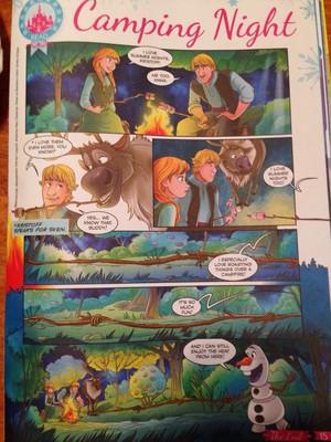 《冰雪奇缘》 - Camping Night Comic
