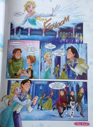 Frozen Comic - Dancing hari