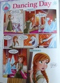 frozen Comic - Dancing día