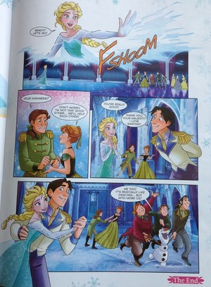 Frozen Comic - Dancing Day