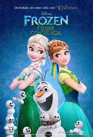 Frozen - Uma Aventura Congelante Fever Latin American Poster