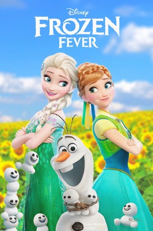 Frozen - Uma Aventura Congelante Fever Poster (Fan made)