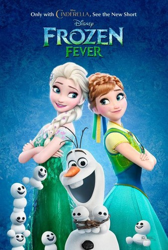 Disney Princess wallpaper with anime entitled Frozen Fever Poster