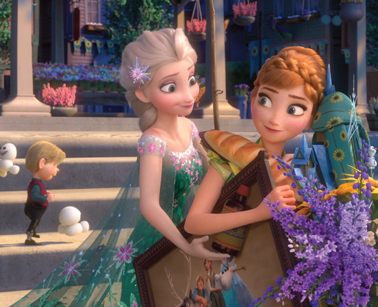 56d1702ced8799 Princess Anna images Frozen Fever HD wallpaper and background photos ...