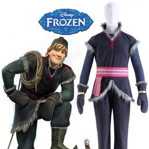 La Reine des Neiges Kristoff Cosplay Costume