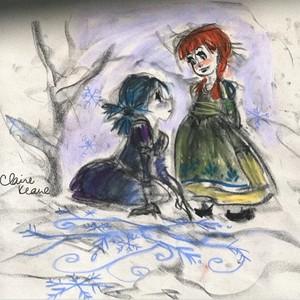 Frozen Visual Development - Anna and Elsa
