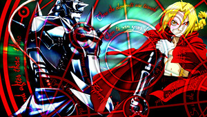 Fullmetal Alchemist kertas dinding