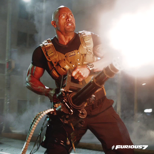 Fast and Furious wallpaper possibly with a rifleman titled Furious 7 - Hobbs