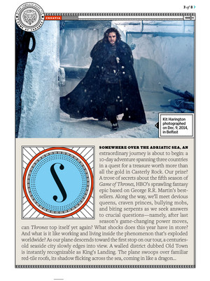 Game of Thrones - EW Scan