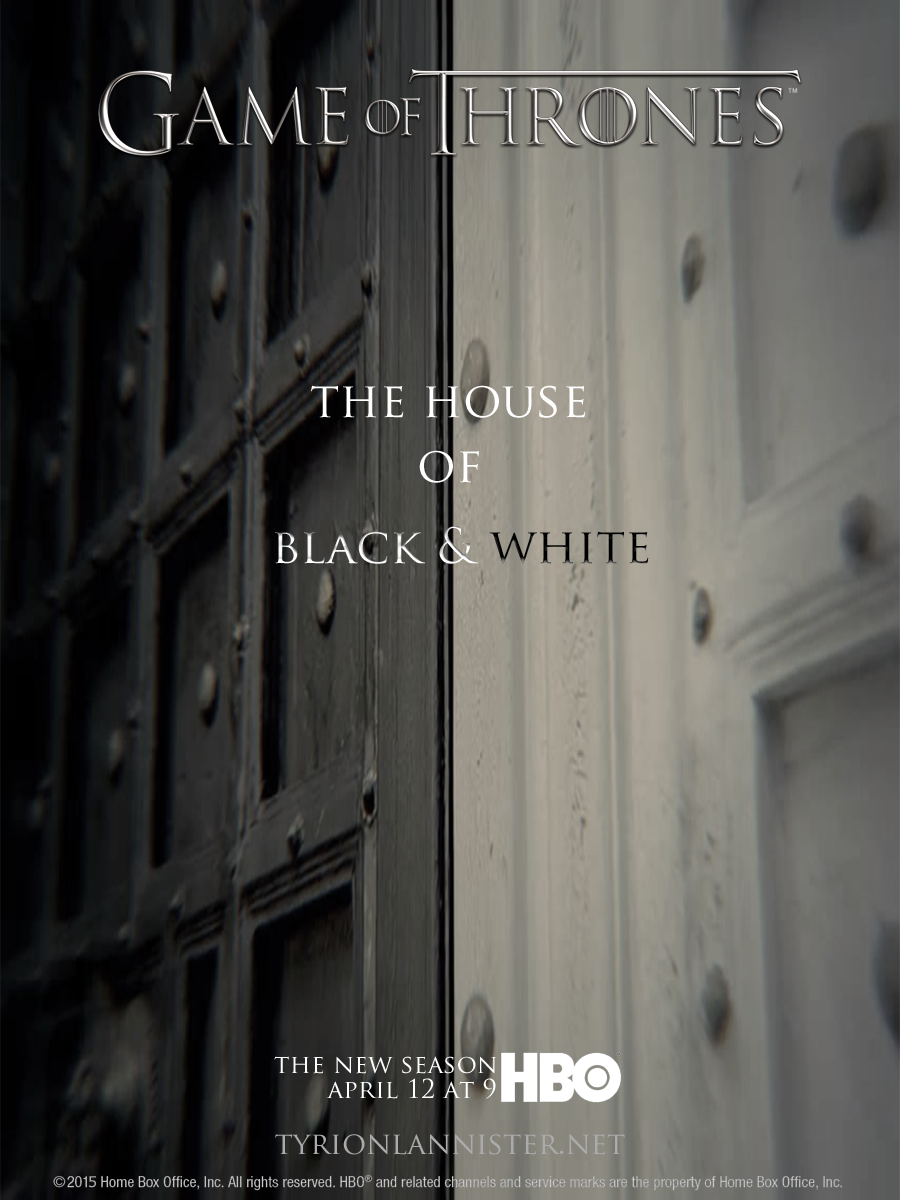 """Game of Thrones Season 5 Episode 2 """"The House of Black and White"""""""