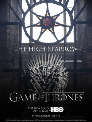 "Game of Thrones Season 5 Episode 3 ""The High Sparrow"""