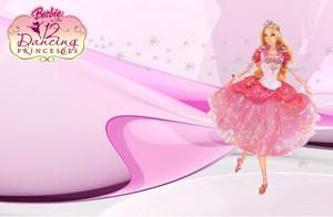 Genevieve बार्बी 12 Dancing Princesses