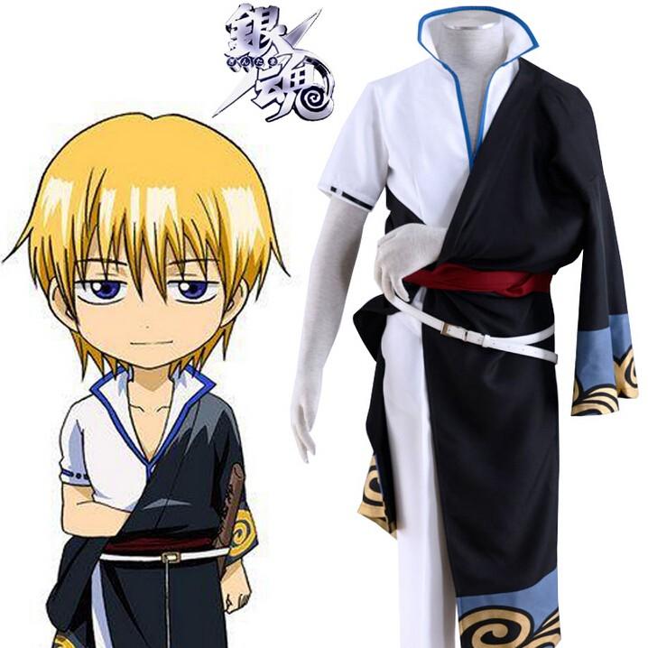 9ea2d4dec gintama Silver Soul Sakata Kintoki kimono Cosplay Costumes - gintama ...