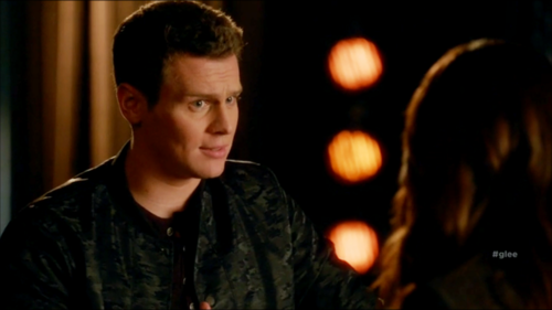 Jesse St. James Hintergrund probably containing a portrait titled Glee S06E11 – We Built This Glee Club