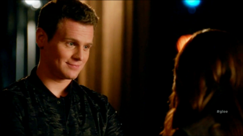 Jesse St. James wallpaper probably containing a portrait entitled Glee S06E11 – We Built This Glee Club