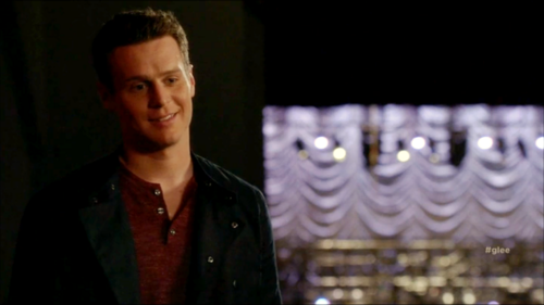 Jesse St. James fond d'écran with a concert called Glee S06E11 – We Built This Glee Club
