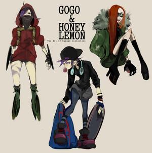 GoGo Tomago and Honey lemon