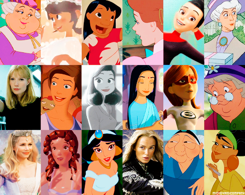 Disney achtergrond called Happy International Women's Day!