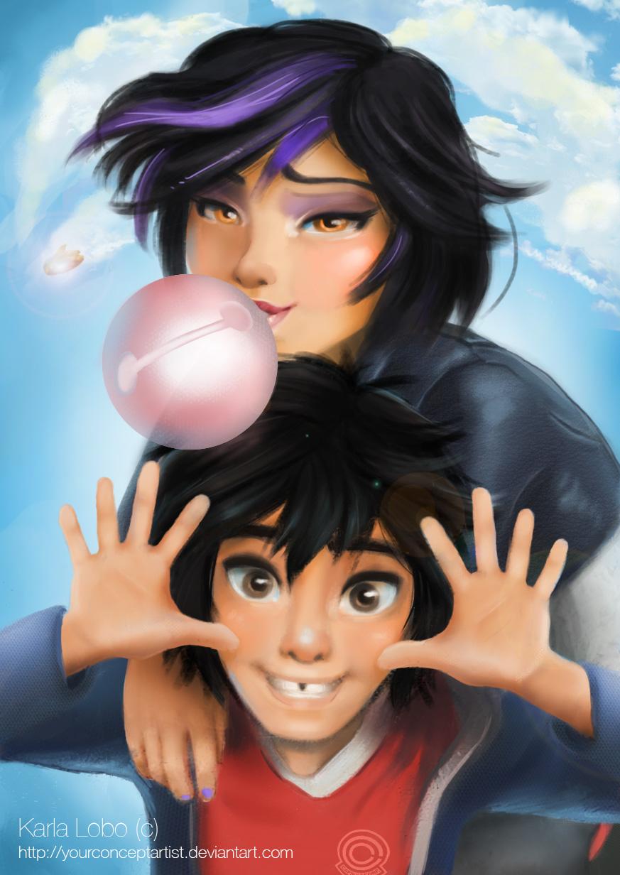 Hiro and GoGo