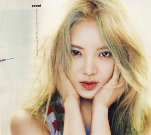 Hyoyeon for Vogue April 2015