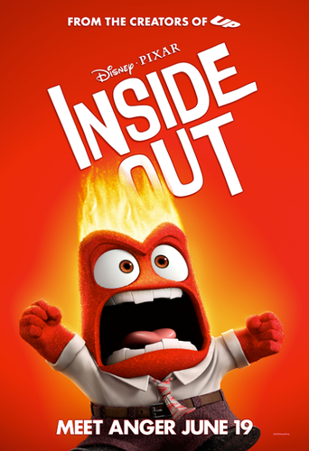 Inside Out achtergrond entitled Inside Out Poster - Anger