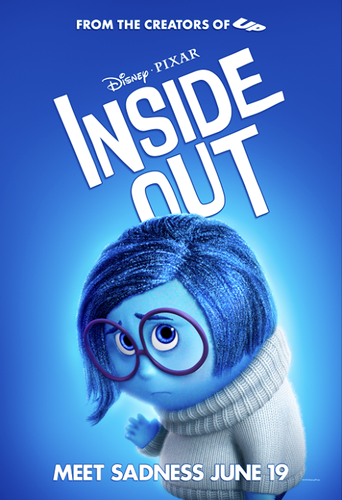 Inside Out achtergrond called Inside Out Poster - Sadness
