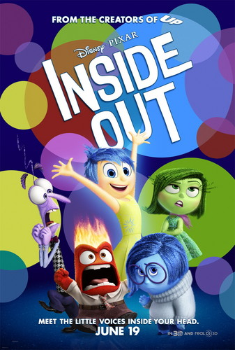 Inside Out achtergrond containing anime titled Inside Out Poster