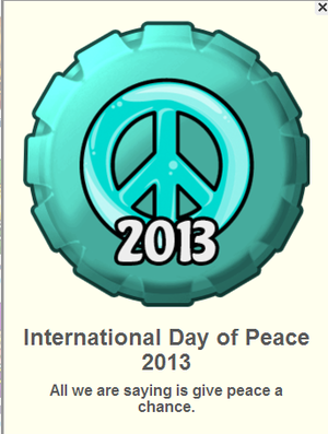International hari of Peace 2013 fanpop topi