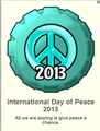 International Day of Peace 2013 Fanpop Cap