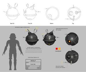Interrogation Droid Concept Art