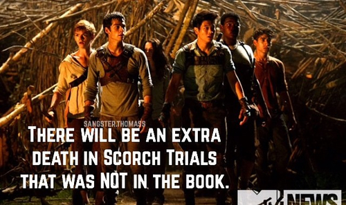 The Maze Runner fond d'écran probably containing a green beret, a rifleman, and a wickiup titled Is this true?