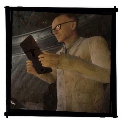 Half Life wallpaper containing a cleaver titled Isaac Kleiner
