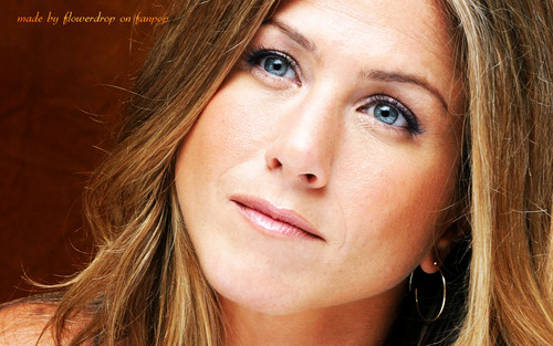 The Rowdy Girls fond d'écran with a portrait called Jennifer Aniston fond d'écran