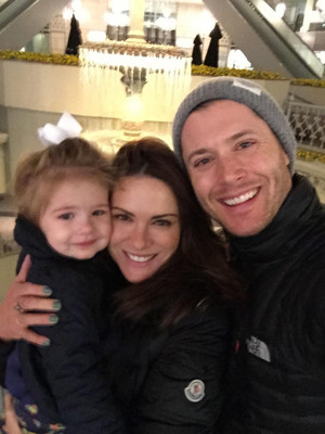 Jensen With His Family