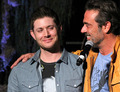 Jensen and Jeffrey Dean Morgan - jensen-ackles photo