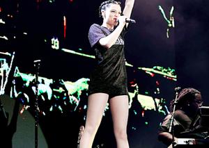 Jessie j in Singapore