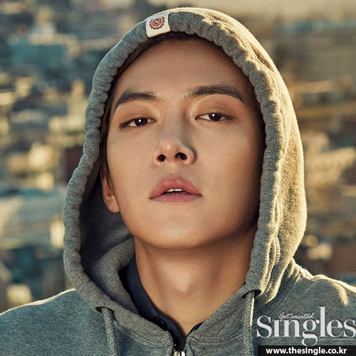 Ji Chang Wook Обои possibly with a капот, худ titled Ji Chang Wook For The April Edition Of Singles