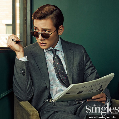 Ji Chang Wook Обои containing a business suit and a suit entitled Ji Chang Wook For The April Edition Of Singles