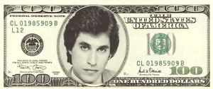 Joey on a $100