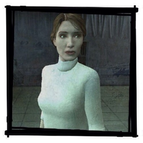 Half Life wallpaper with a television receiver titled Judith Mossman